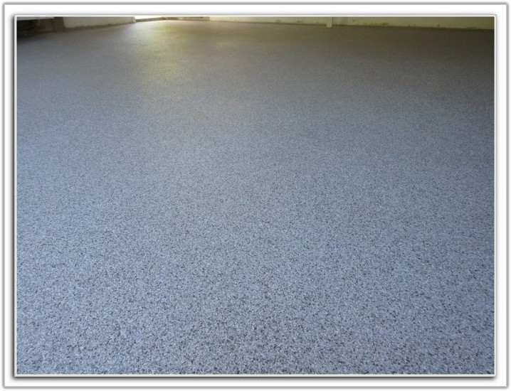 Garage Floor Clear Coat