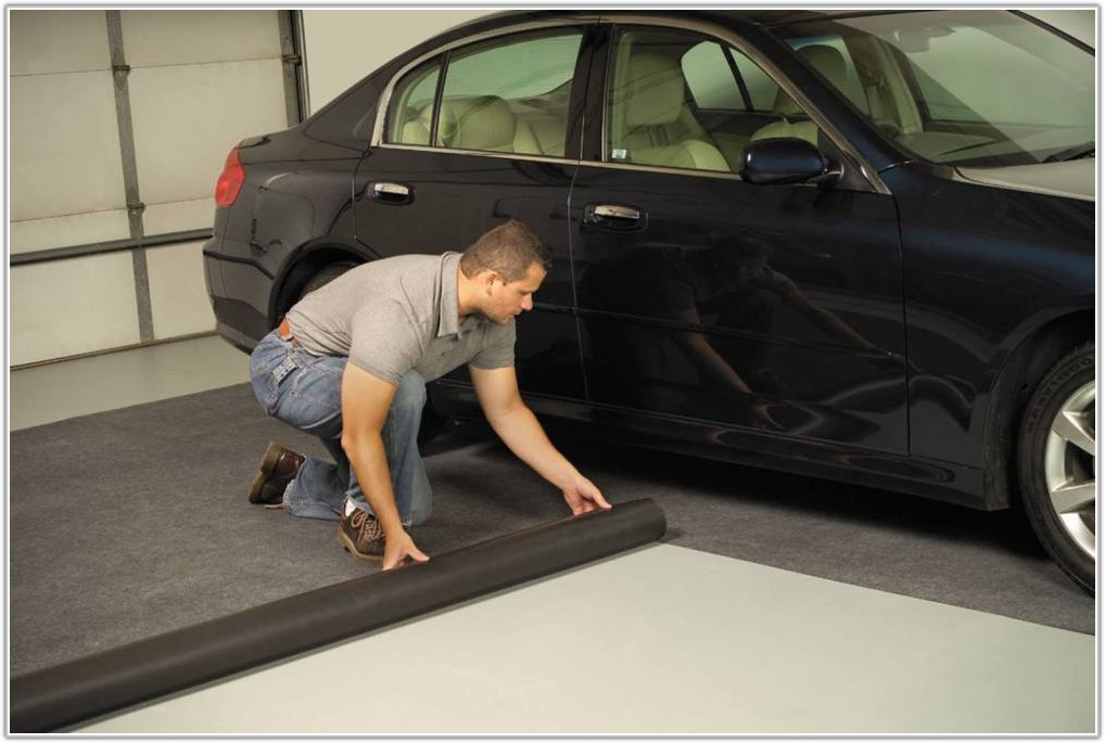 Garage Floor Containment Mats For Cars