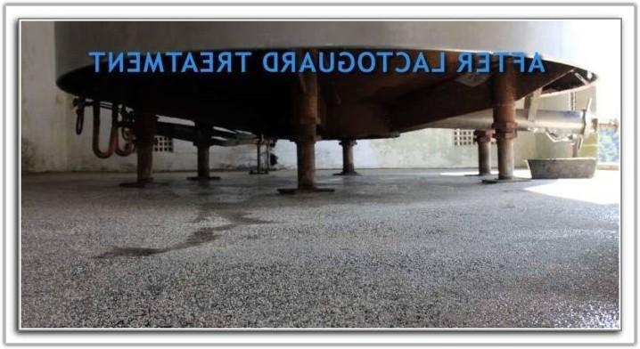 Garage Floor Water Barrier