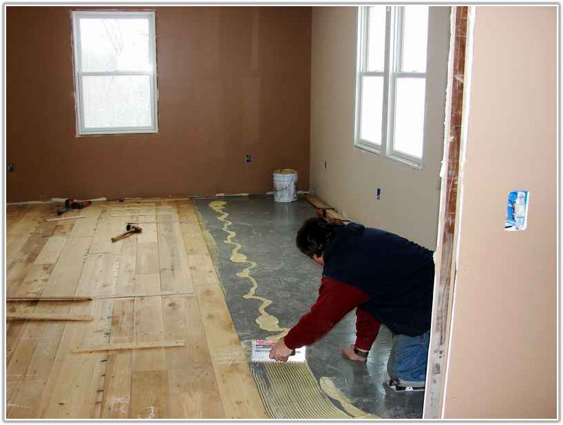 Glue Down Engineered Flooring