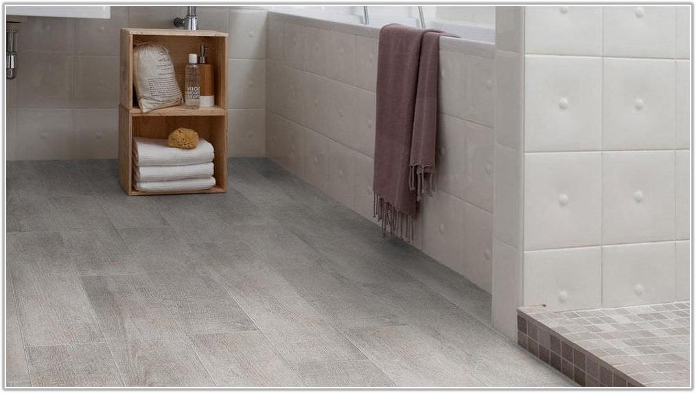 Gray Vinyl Wood Plank Flooring