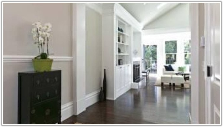Grey Walls Light Hardwood Floors
