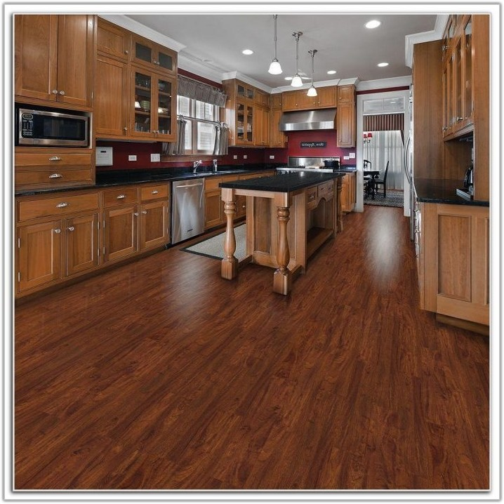 Grip Strip Resilient Tile Flooring