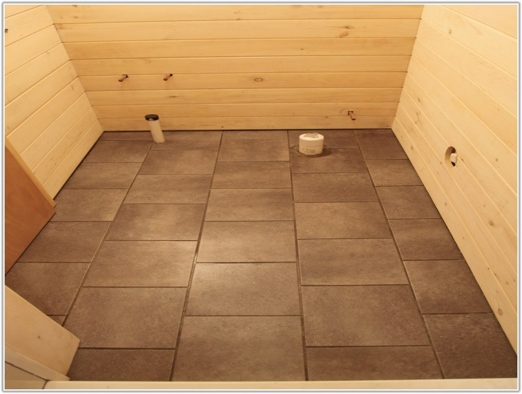 Gripstrip Resilient Tile Flooring