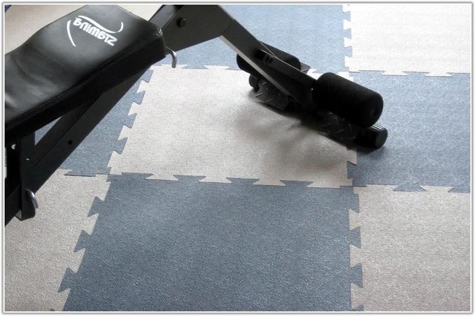 Gym Rubber Flooring Tiles