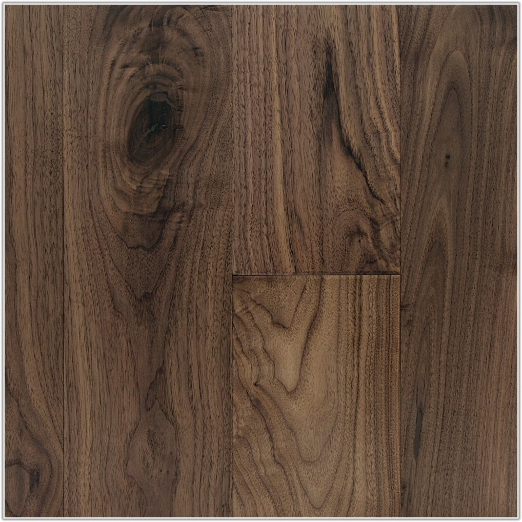Hand Scraped Black Walnut Flooring
