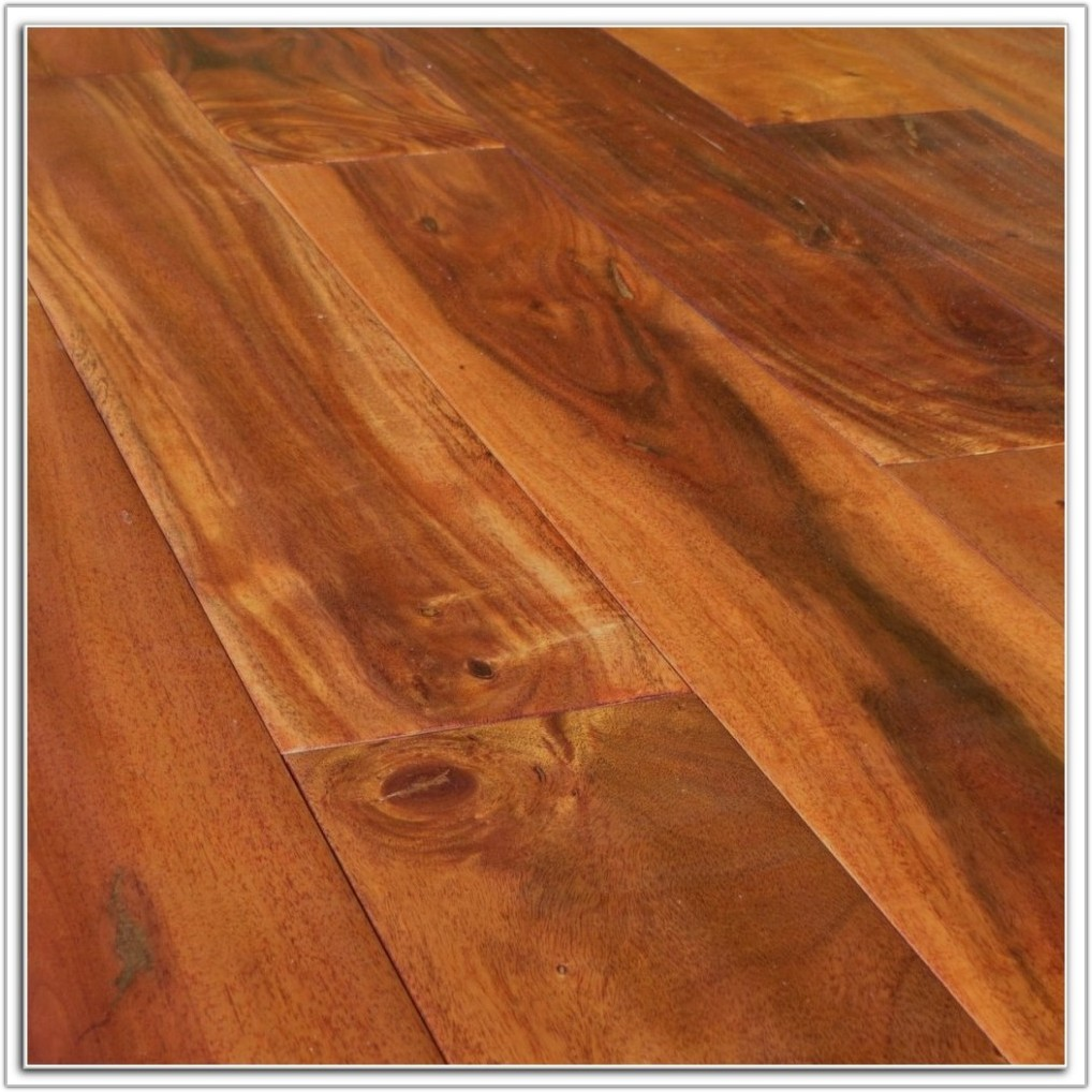 Hand Scraped Distressed Hardwood Floors