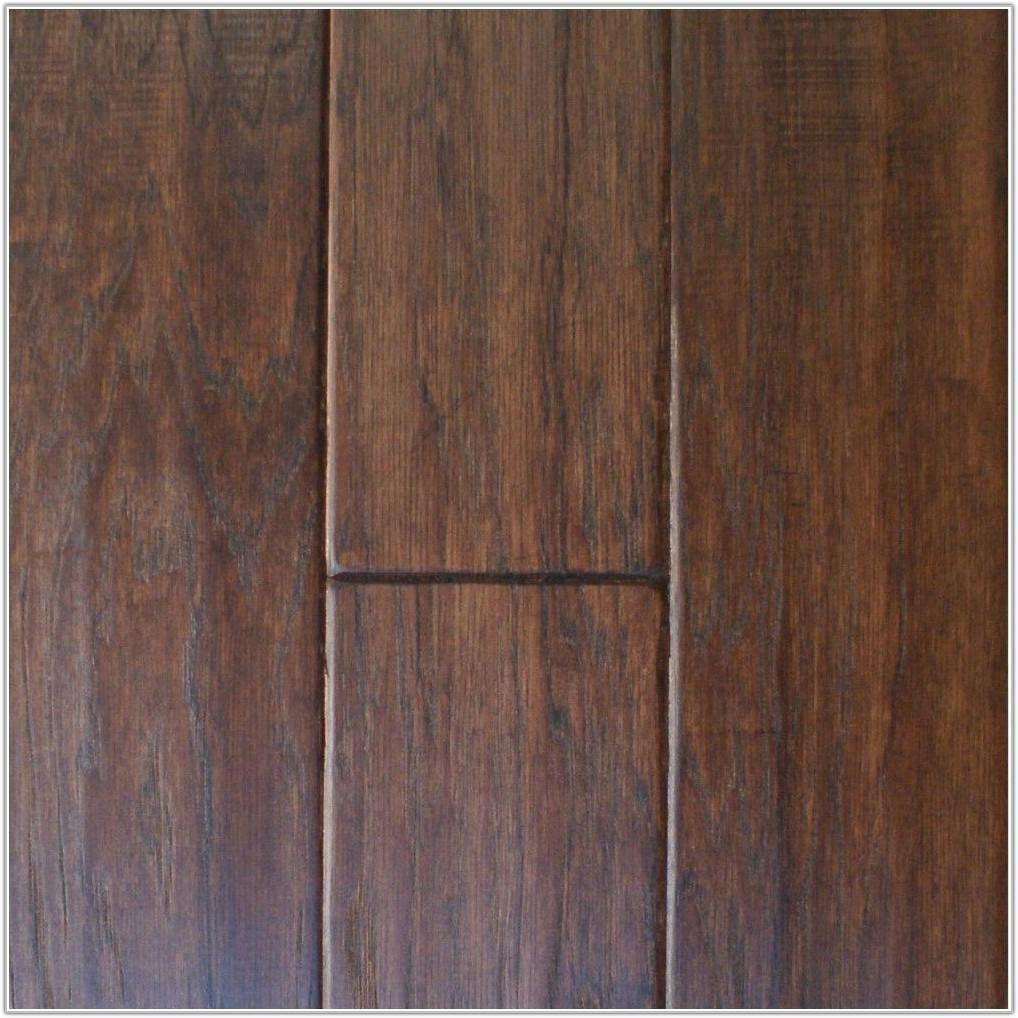 Hand Scraped Hickory Engineered Flooring