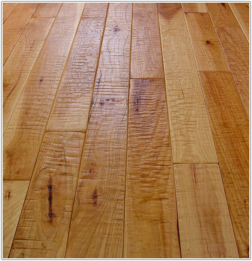 Hand Scraped Hickory Hardwood Flooring