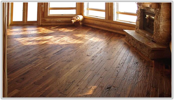 Hand Scraped Hickory Wood Floors