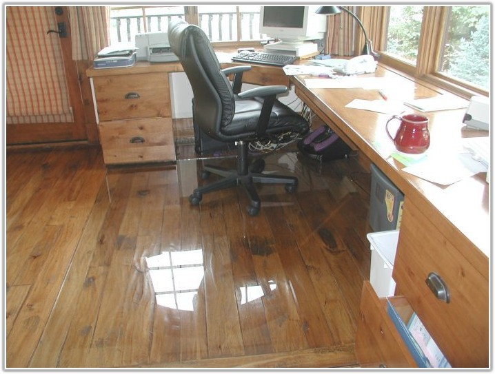 Hardwood Floor Chair Mat