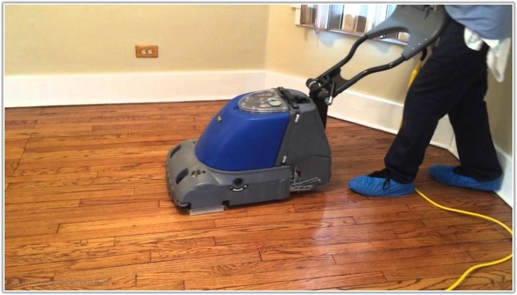 Hardwood Floor Cleaning Machine