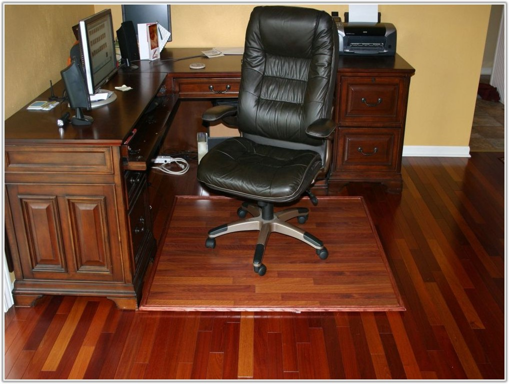 Hardwood Floor Office Chair Mat