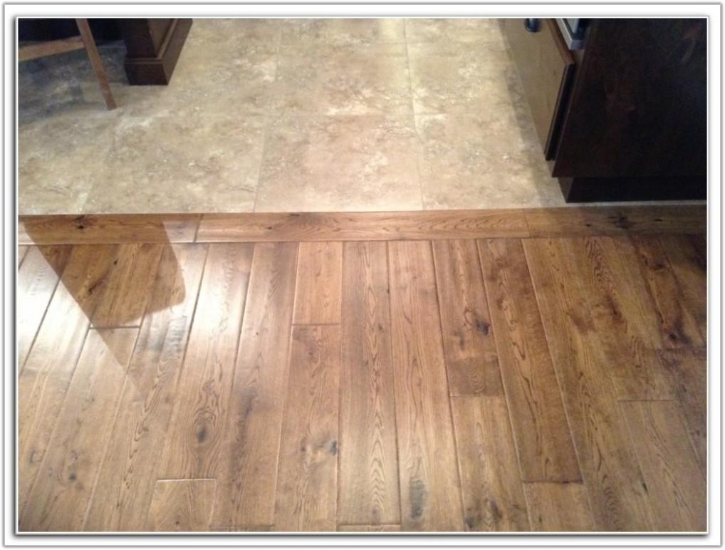 Hardwood Floor Transition Between Rooms