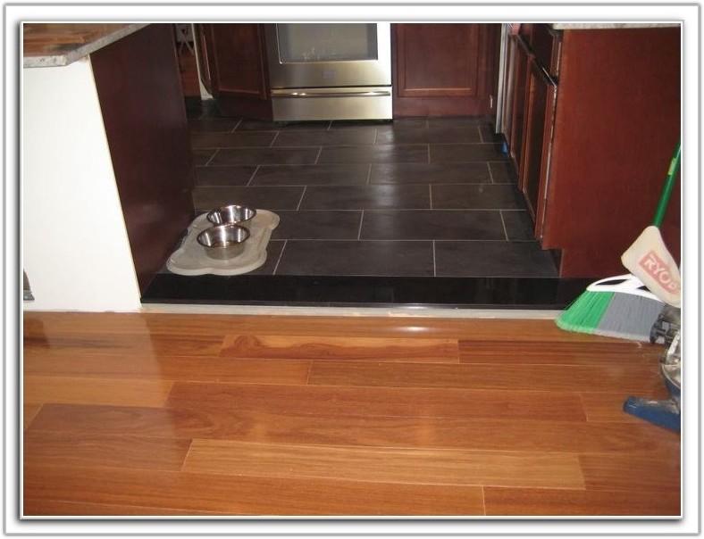 Hardwood Floor Transition Reducer