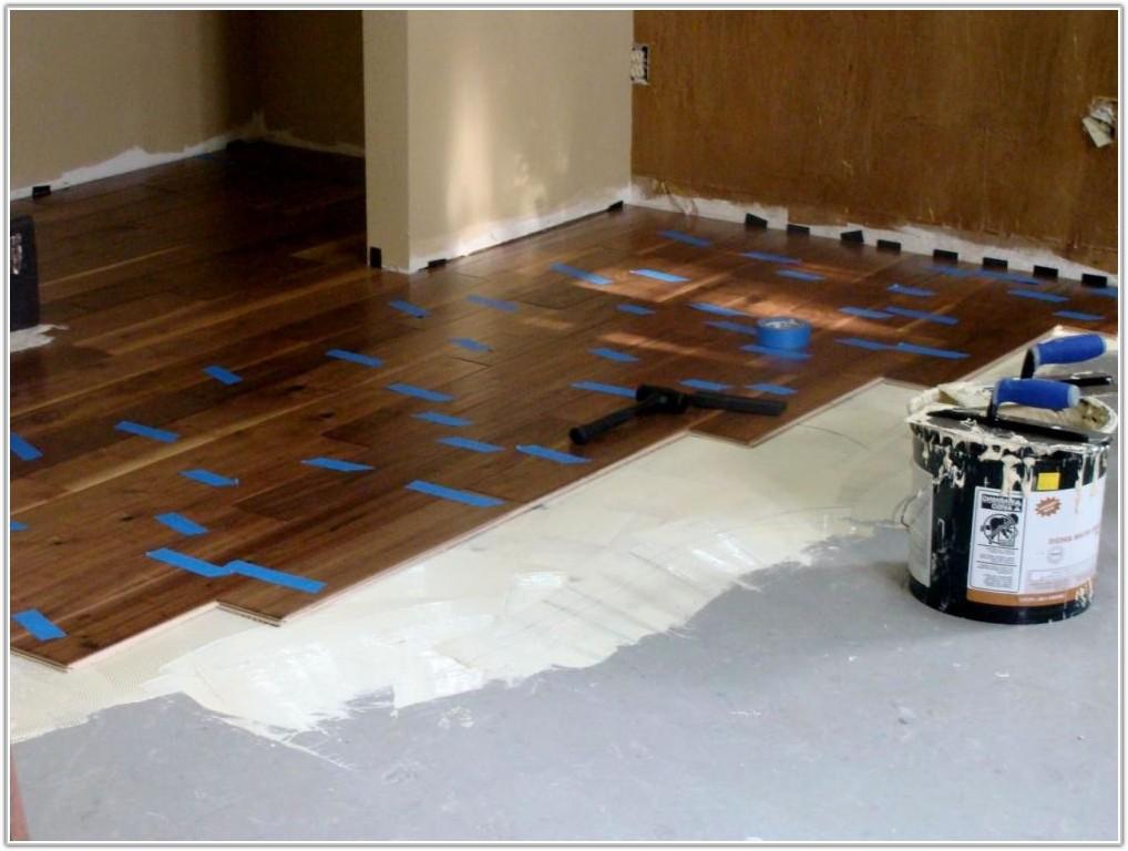 Hardwood Flooring On Concrete