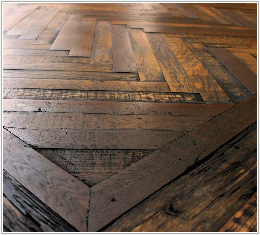 Herringbone Pattern Wood Floors