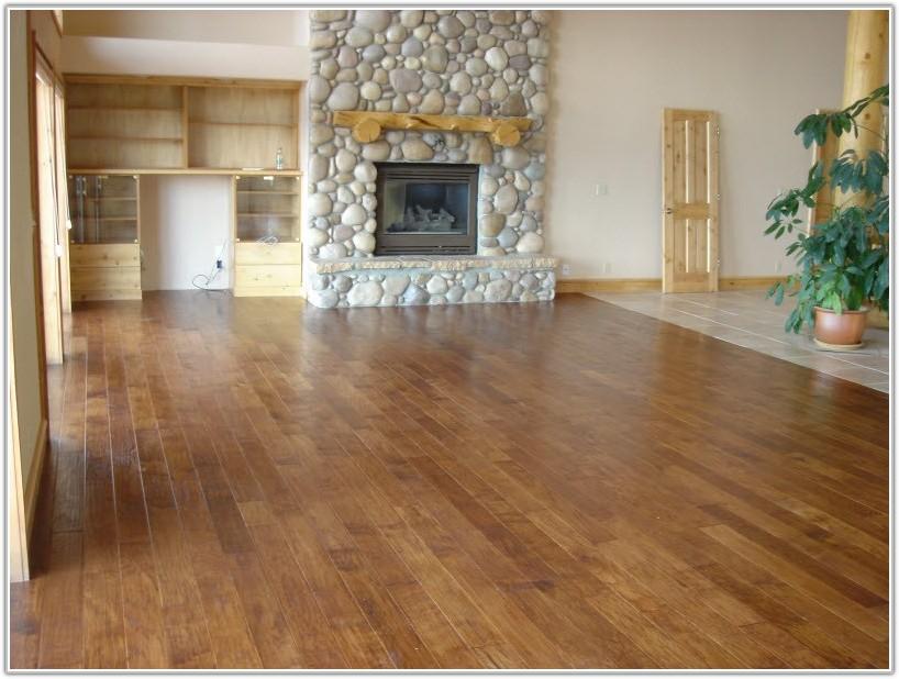 Hickory Hand Scraped Wood Flooring