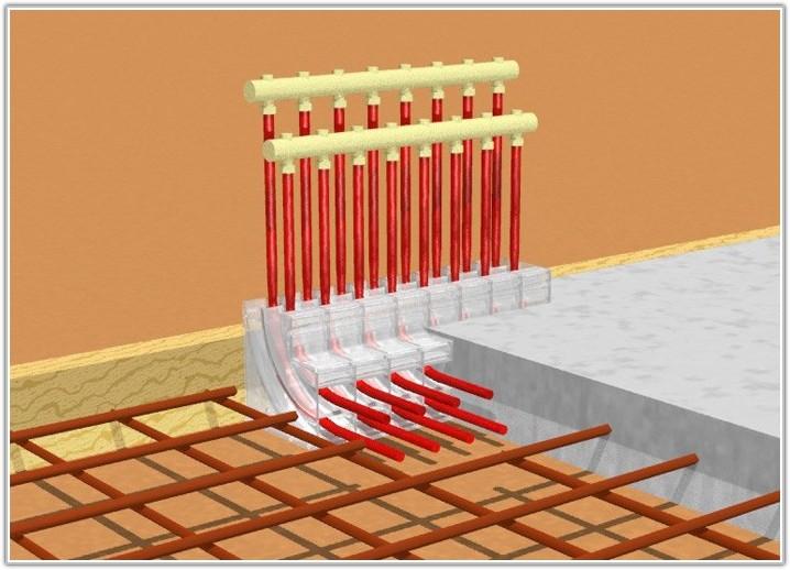 Installing Pex Radiant Floor Heating