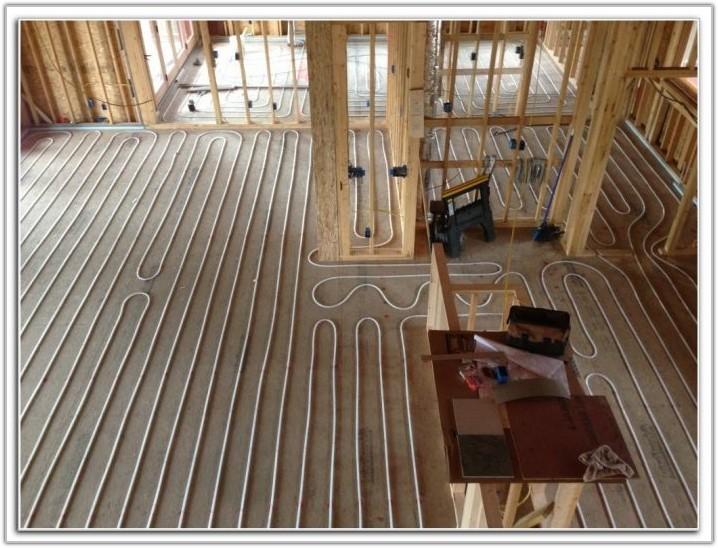 Installing Radiant Floor Heating Under Tile