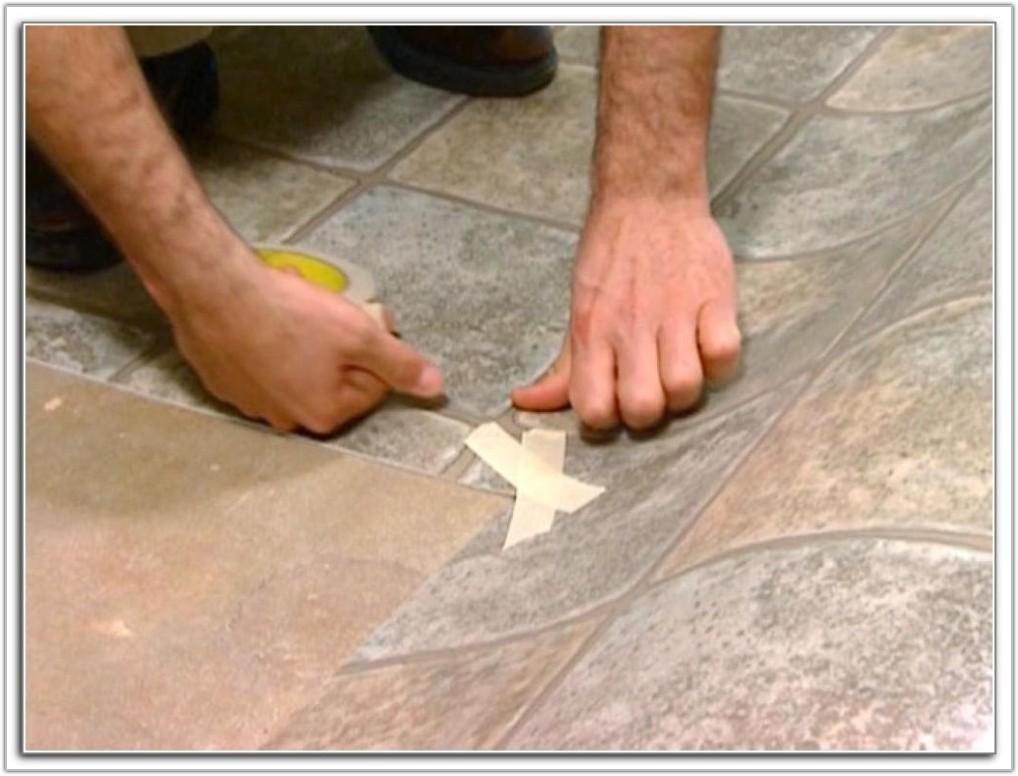 Installing Vinyl Floor Tiles