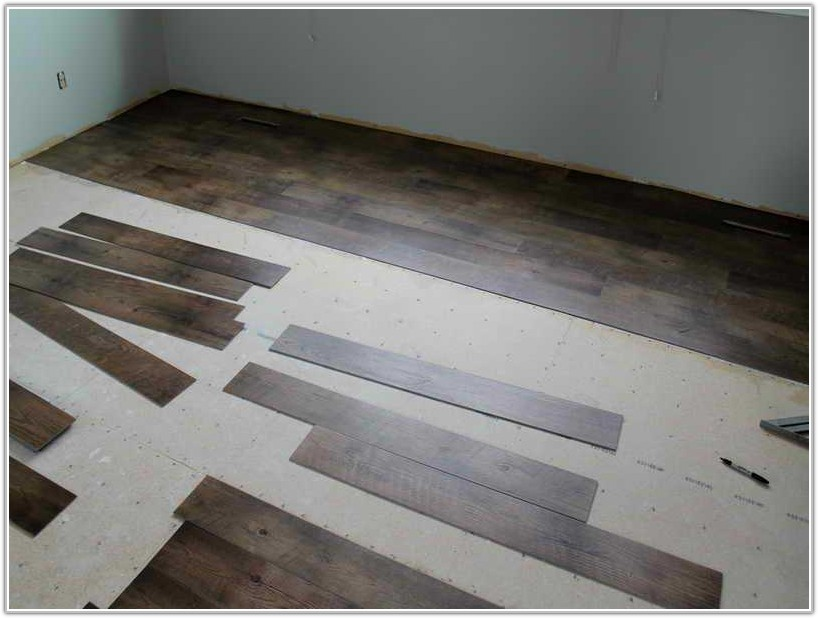 Installing Wood Laminate Flooring Over Concrete