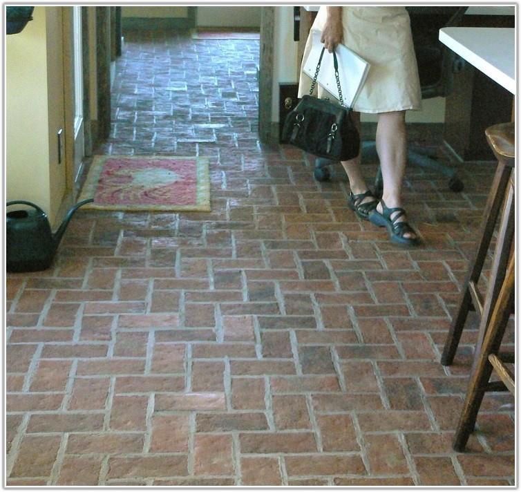 Interior Brick Pavers Flooring