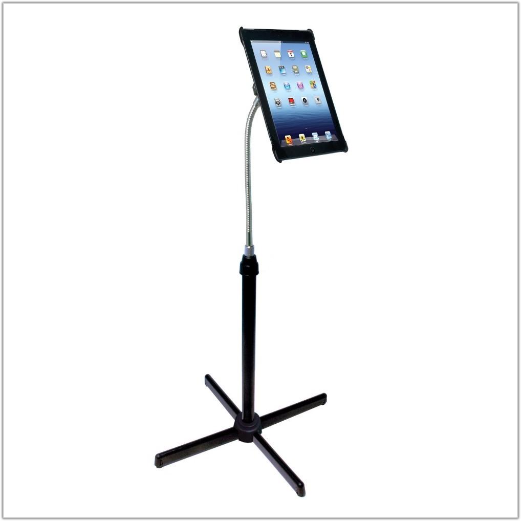 Ipad Gooseneck Floor Stand