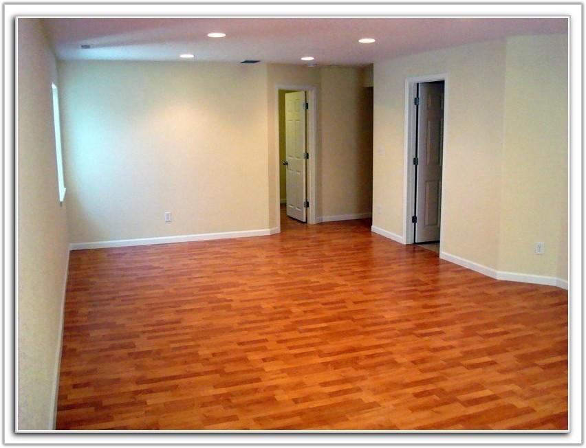 Laminate Flooring In Basement Underlayment