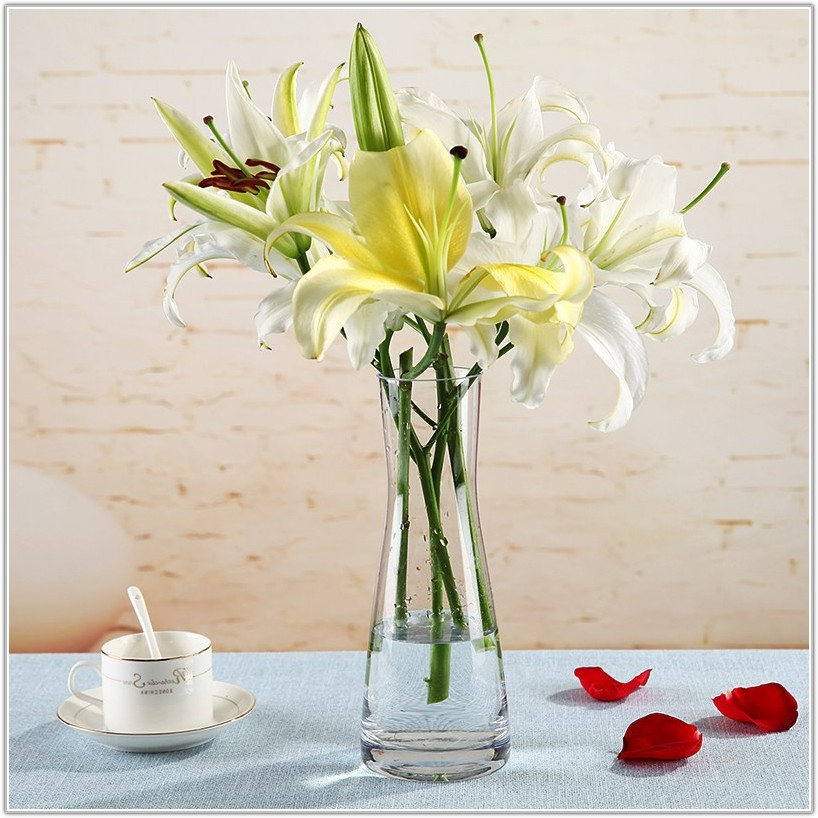 Large Glass Floor Vases