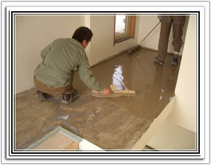 Leveling A Concrete Floor Before Tiling
