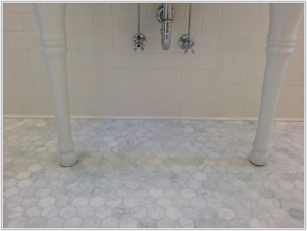 Marble Hexagon Floor Tiles