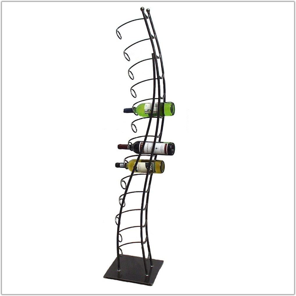 Metal Floor Standing Wine Racks