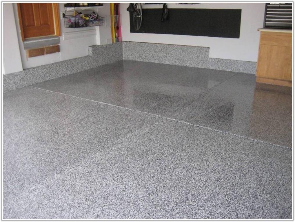 Metallic Epoxy Garage Floor Paint