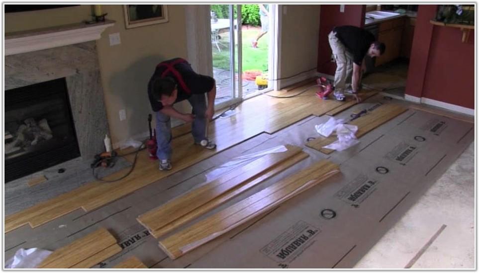 Nail Down Bamboo Flooring Underlayment