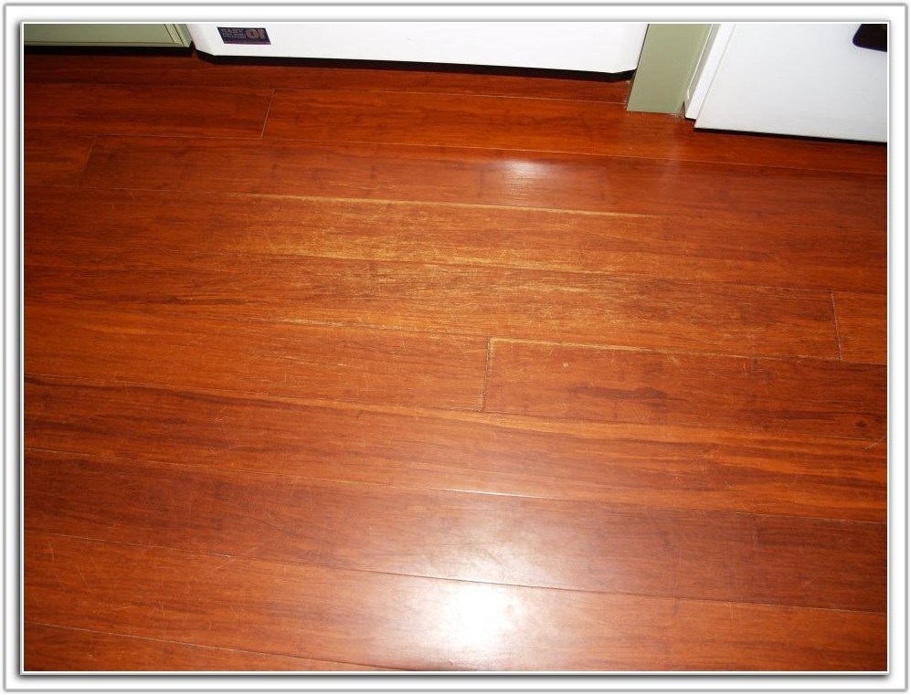 Nail Down Bamboo Flooring