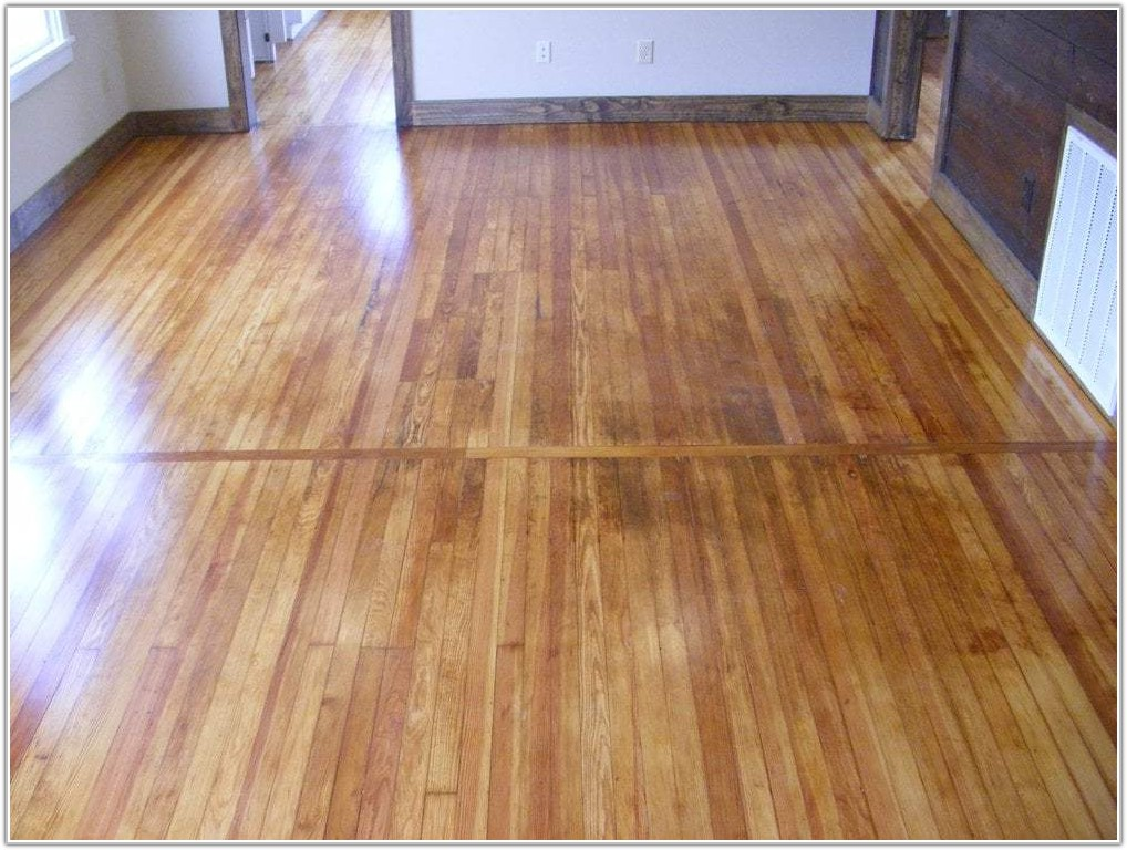 Natural Finish Hardwood Floors
