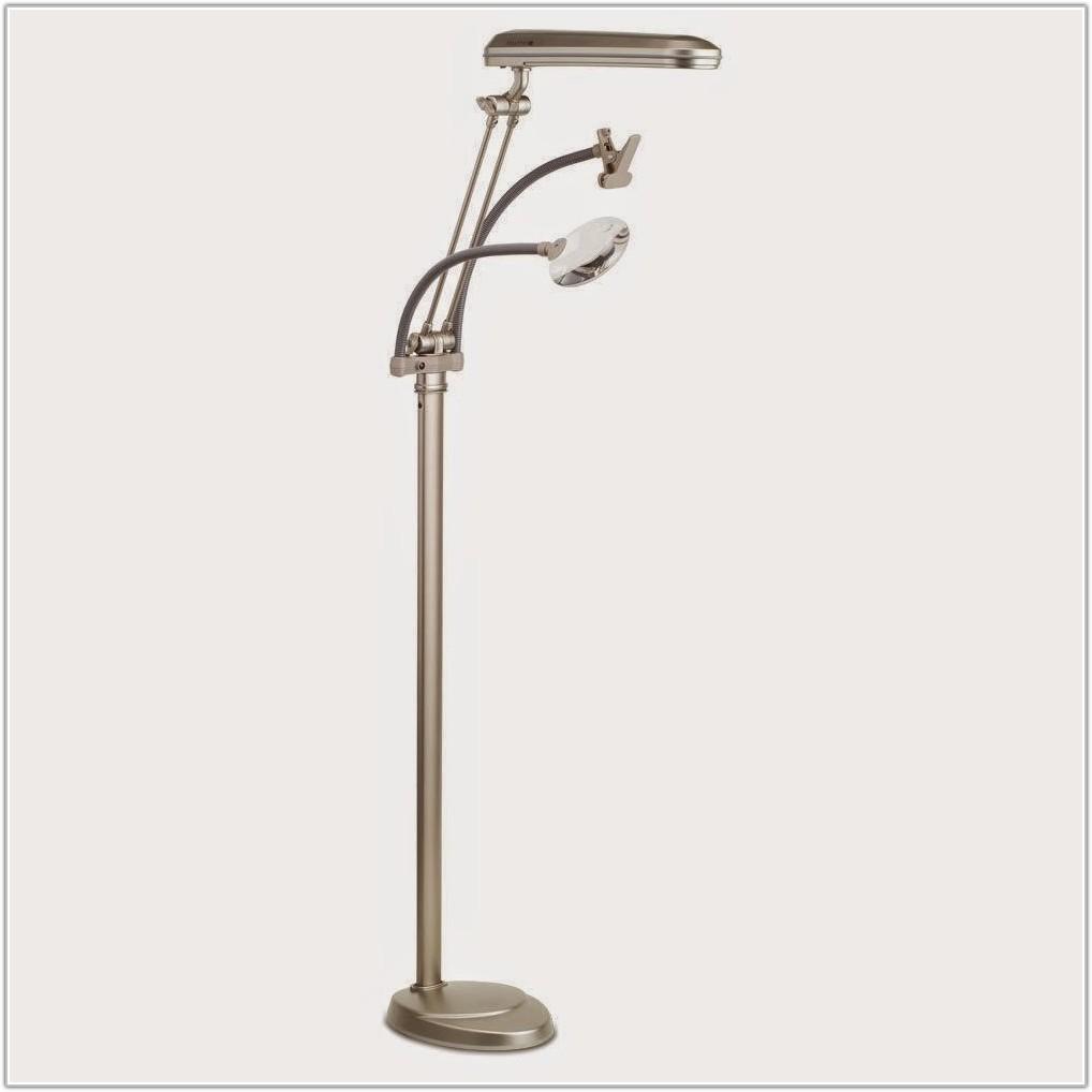 Ottlite Floor Lamp With Wheels