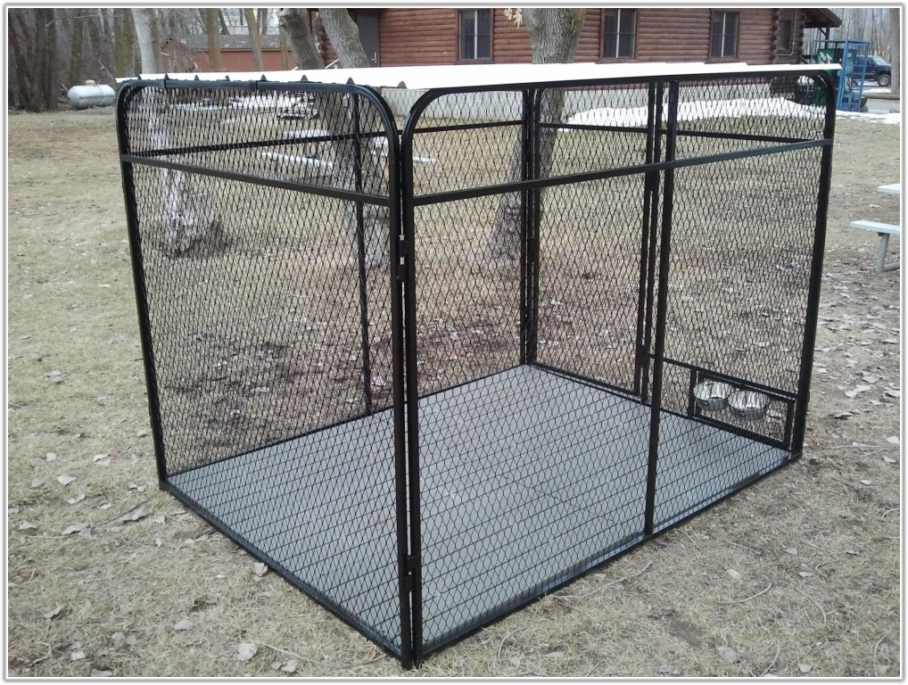 Outside Dog Kennel Flooring