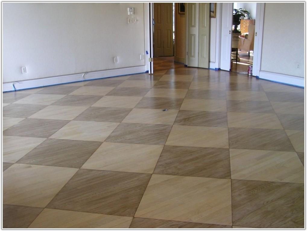 Paint Laminate Wood Floor
