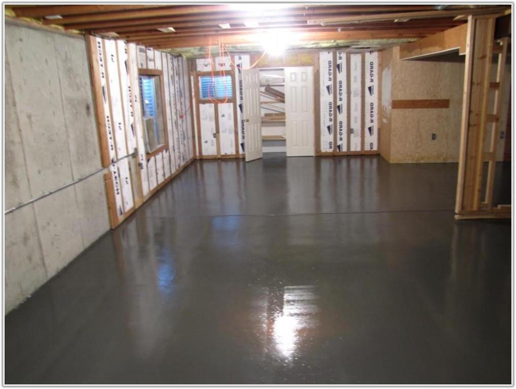 Painting Concrete Basement Floor Ideas
