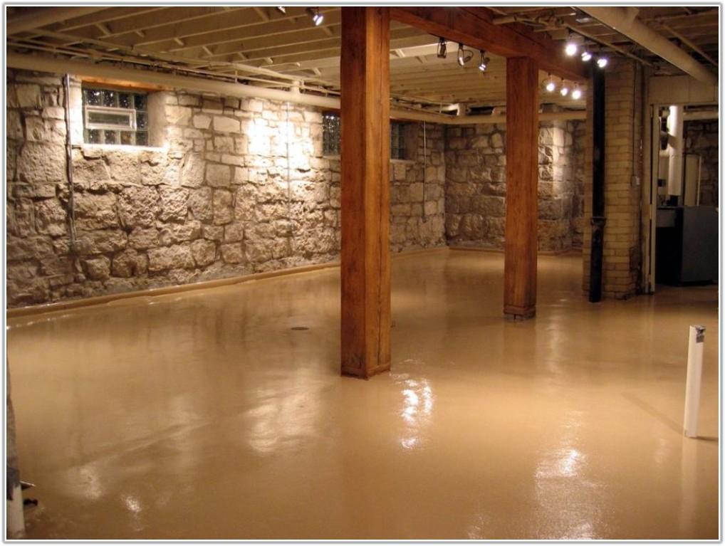 Painting Concrete Basement Floors