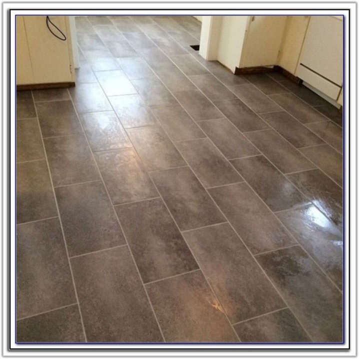 Peel And Stick Groutable Floor Tile