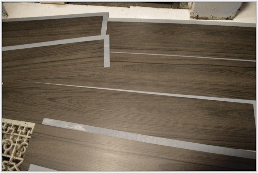 Peel And Stick Plank Flooring