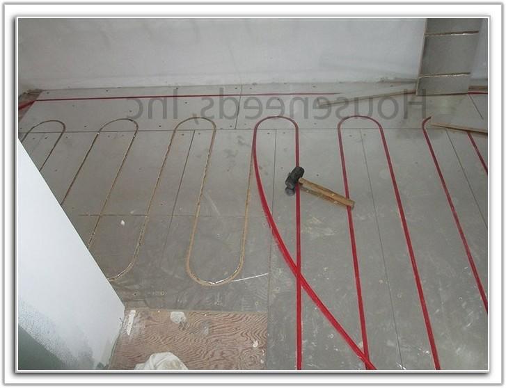 Pex Radiant Floor Heating Design