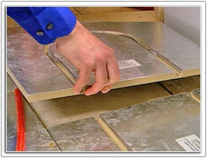 Pex Radiant Floor Heating Panels