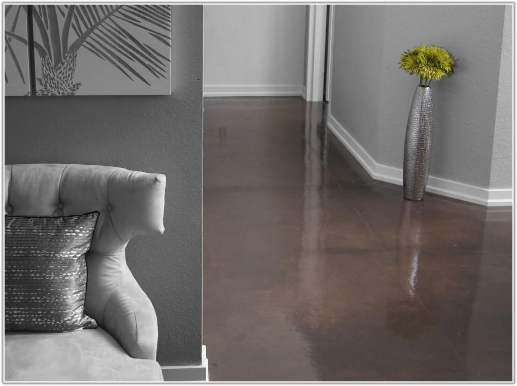 Polished Concrete Floor Sealer