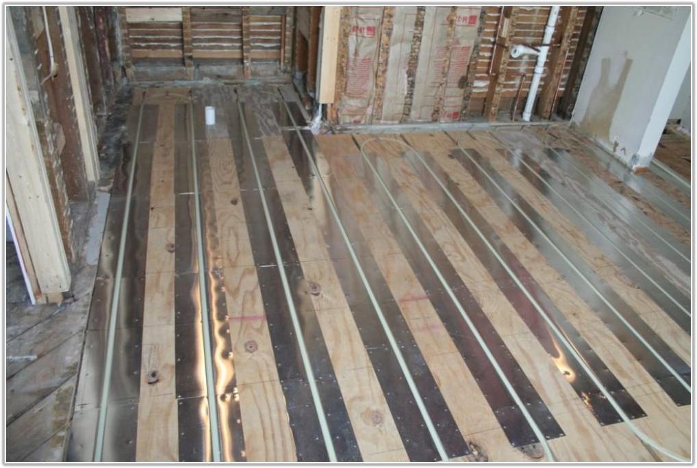 Radiant Floor Heating Bathroom