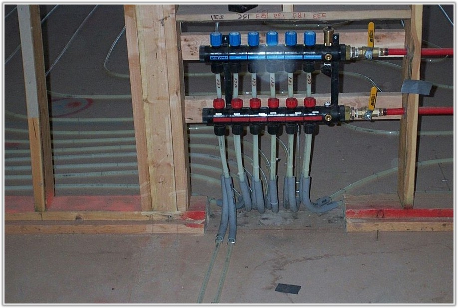 Radiant In Floor Heating Manifold