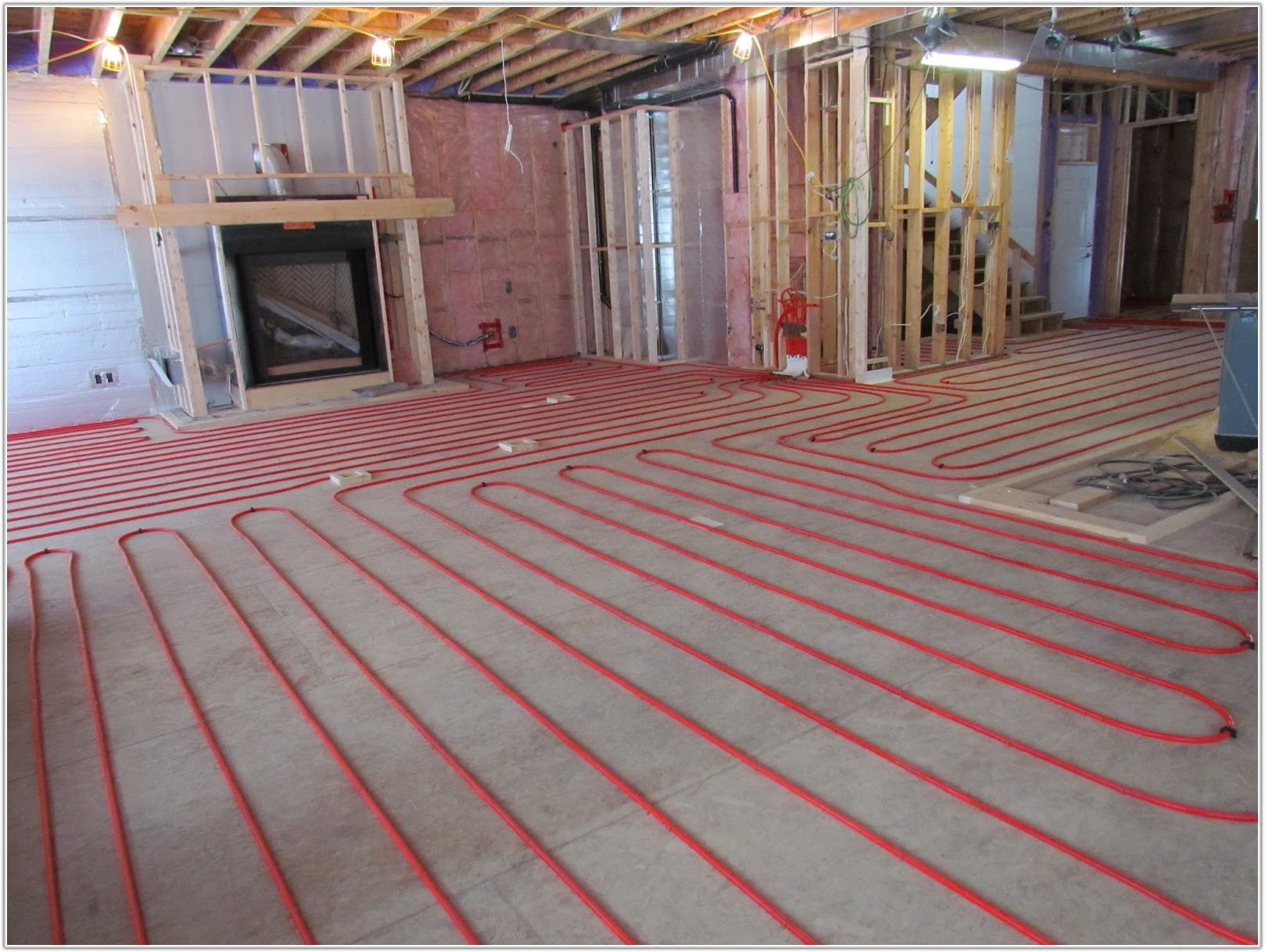 Radiant In Floor Heating